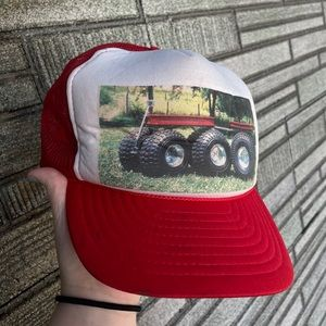 Vintage Wagon SnapBack Trucker Hat